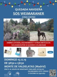 - SALIDA NAVIDEÑA SOSWEIMARANER - Madrid '19 -.